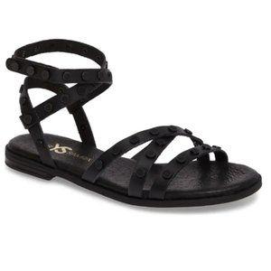 Yosi Samra Madison Flat Stud Sandal